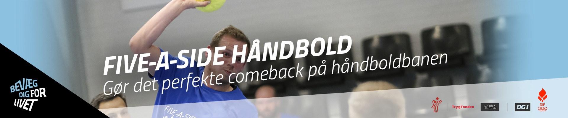 Five-a-side Håndbold