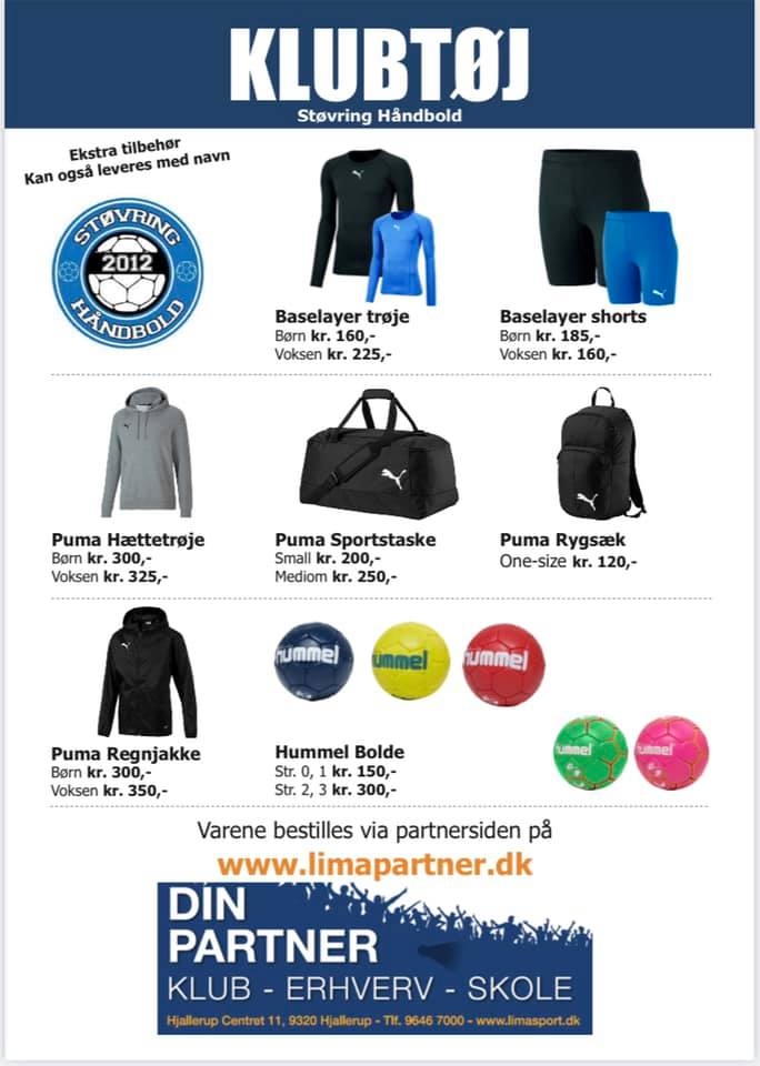 Klubaften / klubtøj september 2021
